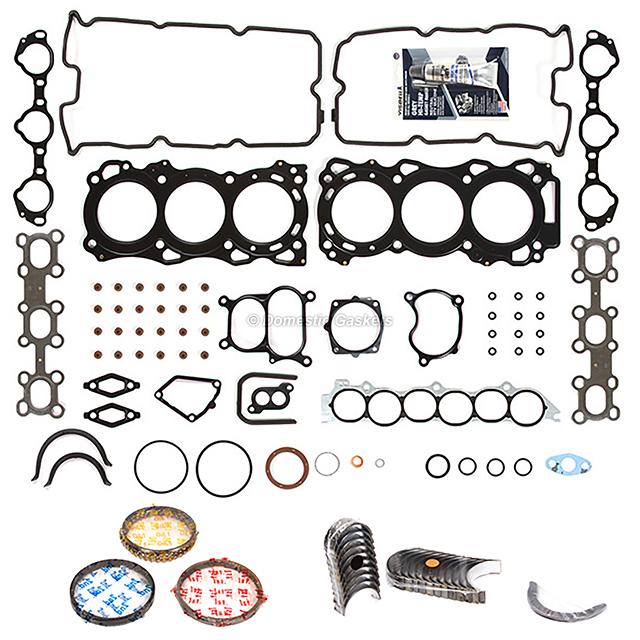 Engine Full Gasket Set Bearings Rings Fits 02-09 Nissan Maxima 3.5L DOHC VQ35DE