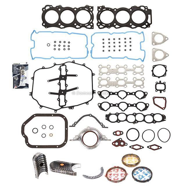 for 01-06 3.5L Infiniti FX35 M35 G35 I35 QX4 VQ35DE OES Piston Ring Set .50mm