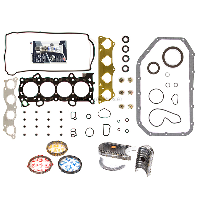 02-06 Acura RSX Type-S 2.0L DOHC Full Gaskets Bearings
