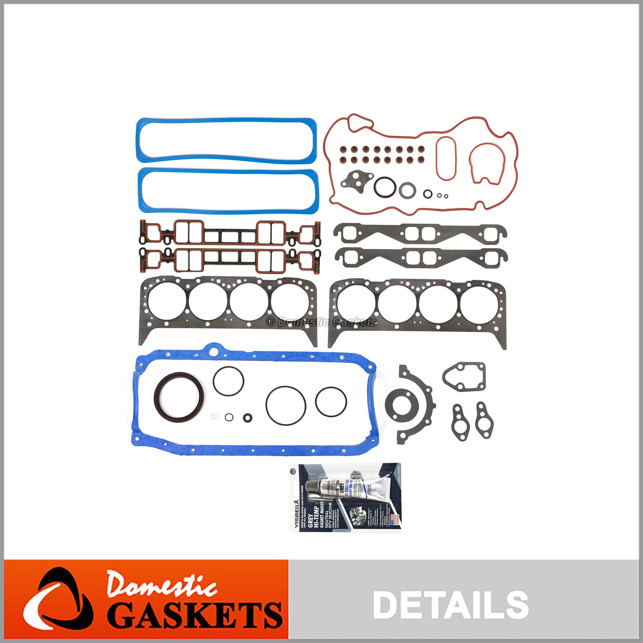 Full Gasket Set Fits 94-95 Ford Mustang 3.8L V6 OHV 12v Cu.232 VIN 4 W// RWD