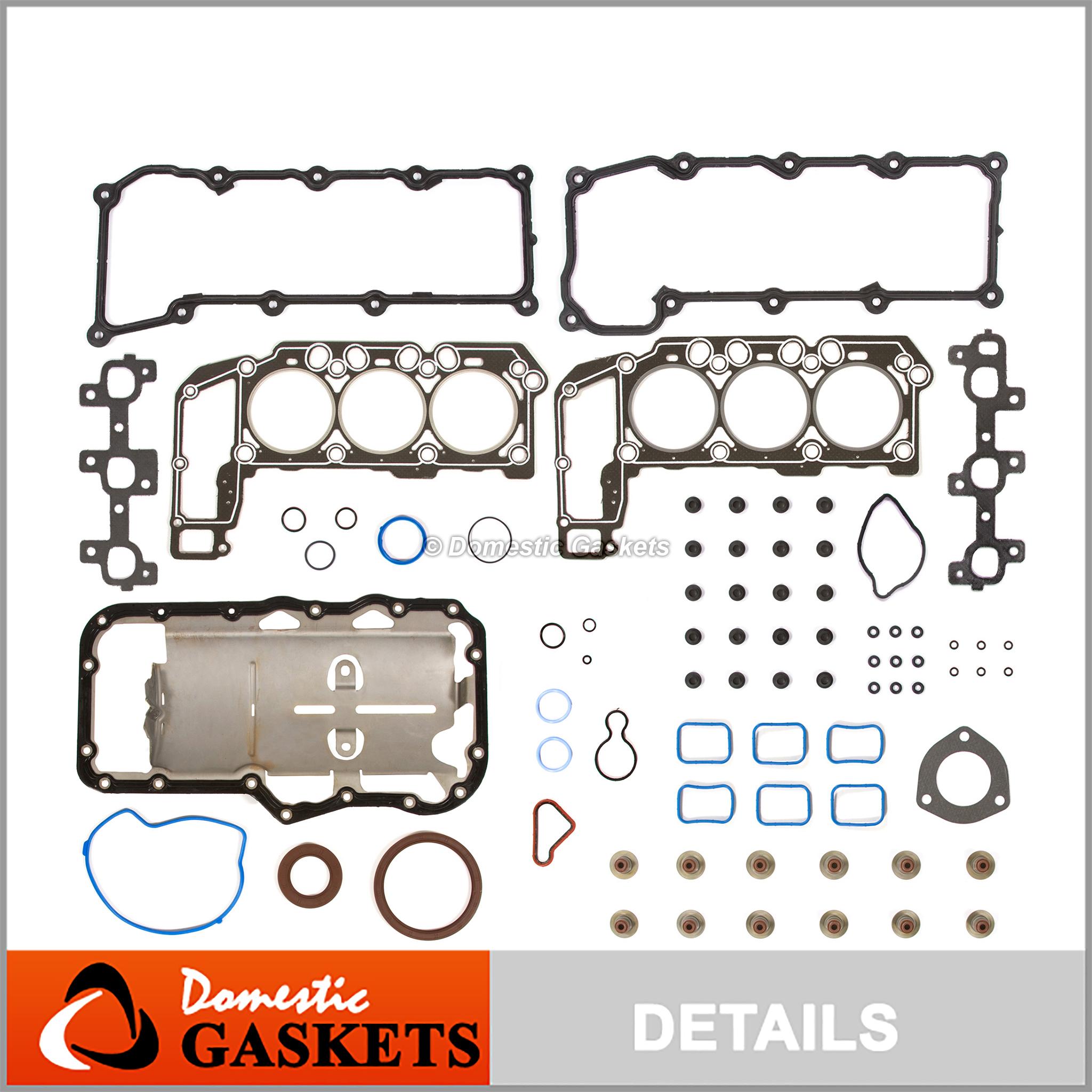 02-05 Dodge Ram Durango Dakota Jeep Liberty 3.7L SOHC Graphite Re-Ring Kit VIN K