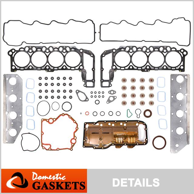 Full Gasket Set Head Bolts for 08-10 Dodge Dakota Ram Durango Jeep Commander 4.7