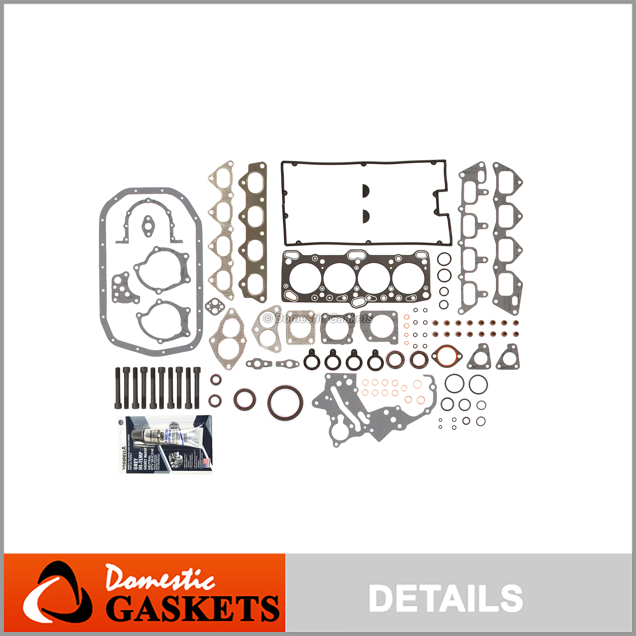 High Performance Head Gasket Set Fit 89-98 Mitsubishi Eagle 1.6 1.8 2.0 DOHC