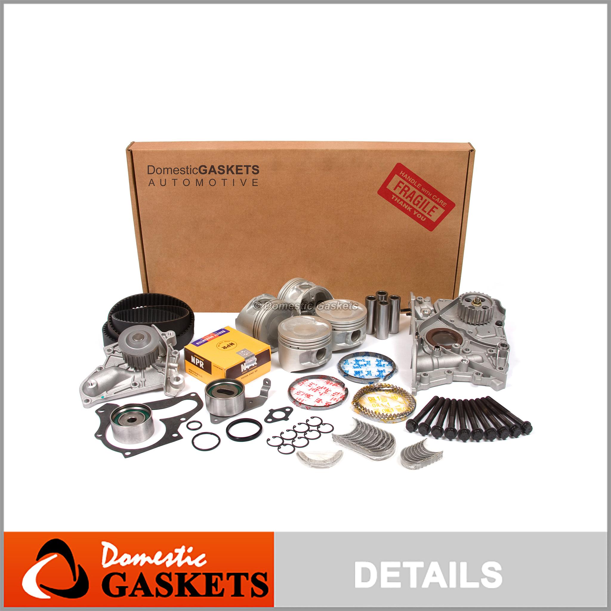 Head Gasket Set Bolts Kit Seal For 1997-2001 Toyota Celica Solara ...