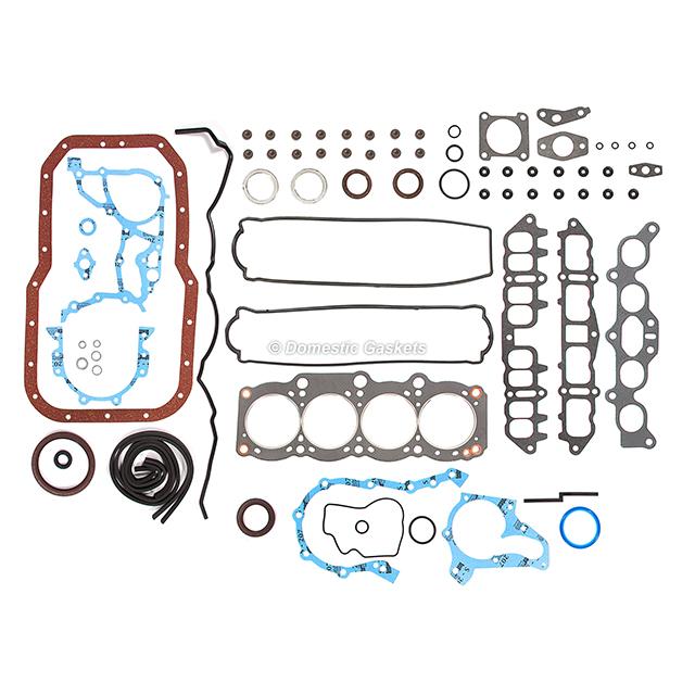 """Fits 86-89 TOYOTA GTS 2.0L Full Gasket Set w// Head Bolts Kit /""""3SGELC/"""""""