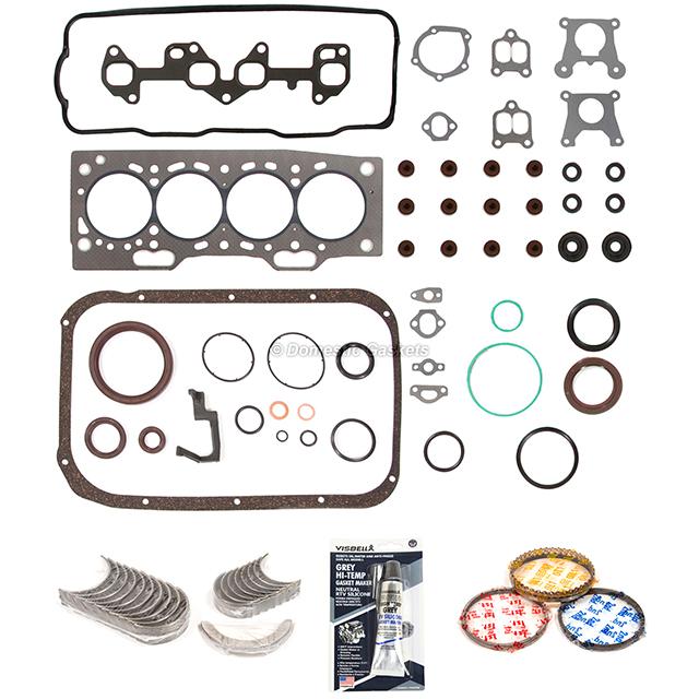 Fits 87-94 Toyota Tercel 1.5L SOHC Engine Re-Ring Kit 3E 3EE