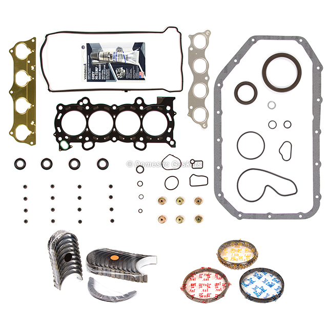 Fit 02-06 Acura RSX Honda Civic Full Gaskets Main Rod