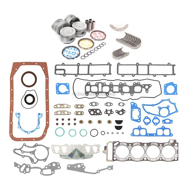 85-95 Toyota 22R Pickup 4Runner 2.4L Pistons Rings Rod Main Bearing