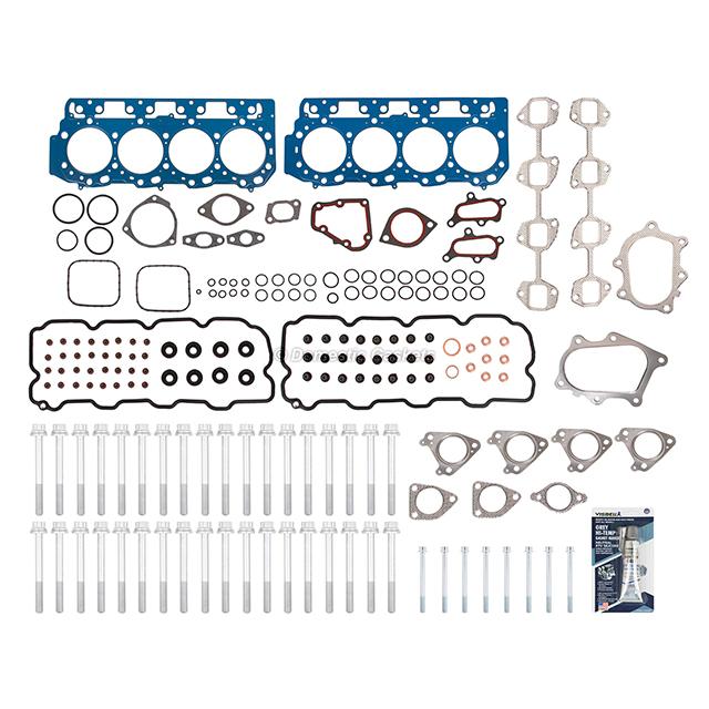 "Fits 01-04 Chevrolet Silverado GMC Sierra 6.6 Diesel Head Gasket Set .047/"" Bolts"