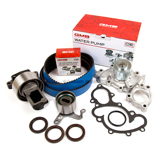 For Toyota 4Runner Pickup T100 V6 3.0L Engine Water Pump with Gasket /& Pipe GMB