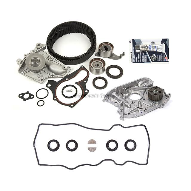 Timing Belt Water Oil Pump Valve Cover Gasket Fits 97-99 Toyota Celica RAV4 5SFE
