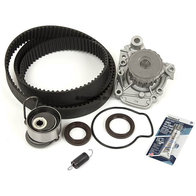 Timing Belt Kit Valve Cover Kit Fits 01-05 Honda Civic 1.7L D17A1 D17A2 D17A6