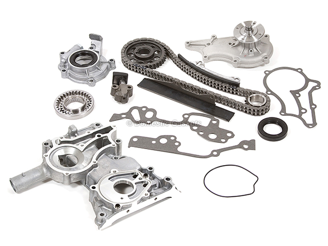 79-82 Toyota Pickup Corona Celica Timing Chain/&Cover Oil/&Water Pump Kit 20R 22R