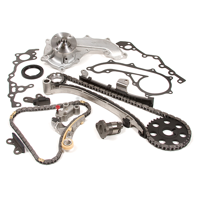 Timing Chain Kit for 94-04 Toyota T100 4Runner Tacoma 2.7L 3RZFE w// Water Pump