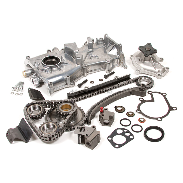 Timing Components Timing Chain Kit Set For 1993-1997 Nissan Altima ...