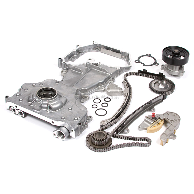 Fit 02 06 Nissan Altima Sentra Se R 2 5l Timing Chain Oil Pump Water Pump Qr25de Ebay